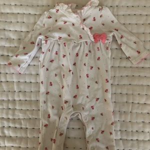 floral janie and jack baby girl jumper
